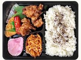 唐揚げ弁当・fried-chicken-bento