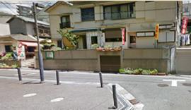 ランチBOX あいちゃん 店舗前の道